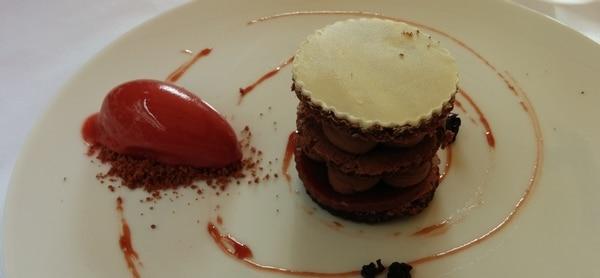 Deilig dessert på Aszu