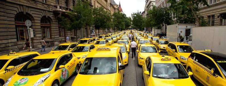 Vær forsiktige med taxier i Budapest