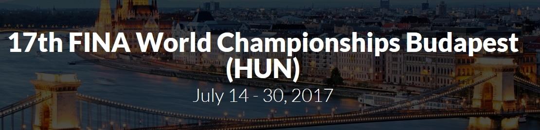 VM i svømming i BUdapest og Ungarn