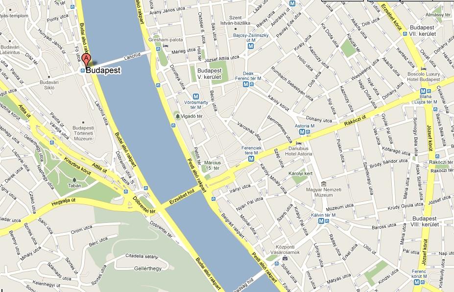kart roma severdigheter Kart   Budapest turistguide kart roma severdigheter