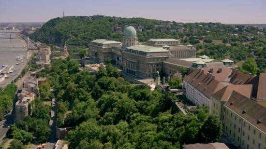 Bilde fra Budapest i Strike Back episode