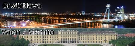 Dagstur til Wien og Bratislava