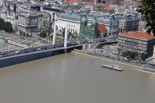 Flod i Budapest