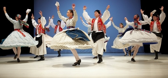 Folkdance in Hungary