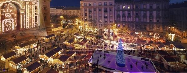 Julemarked ved Stefansbasilikaen
