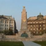 Kommunist monument i Budapest