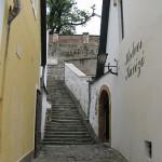 En koselig gate i Szentendre