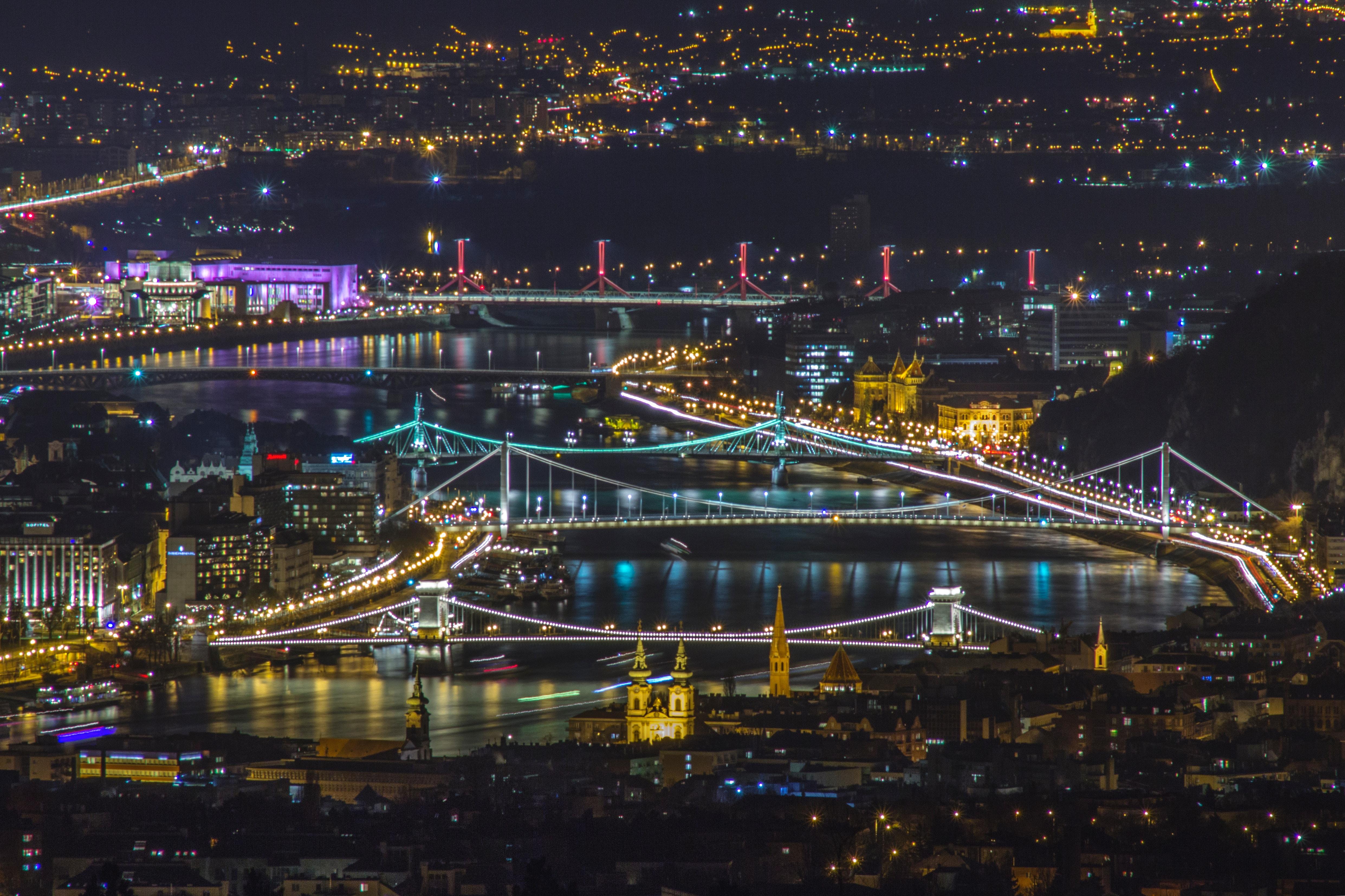 Fantastisk Budapest panorama bilde