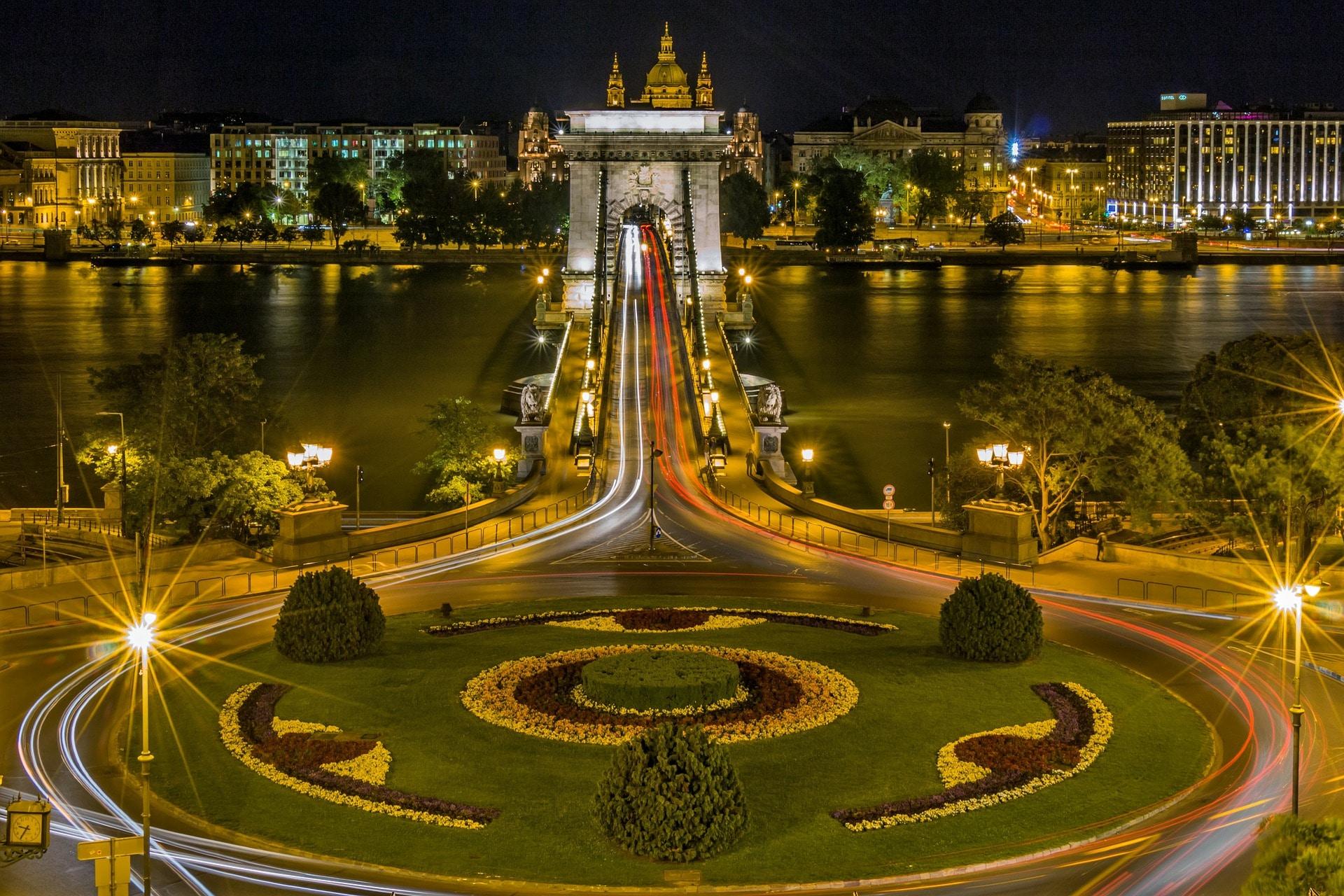 Vårmarked i Budapest i 2019