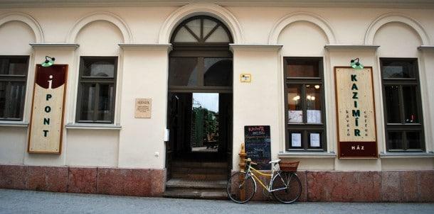 Restauranten Kazimir i Budapest