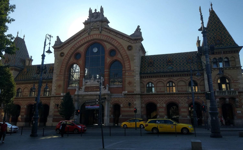 Den store markedshallen i Budapest