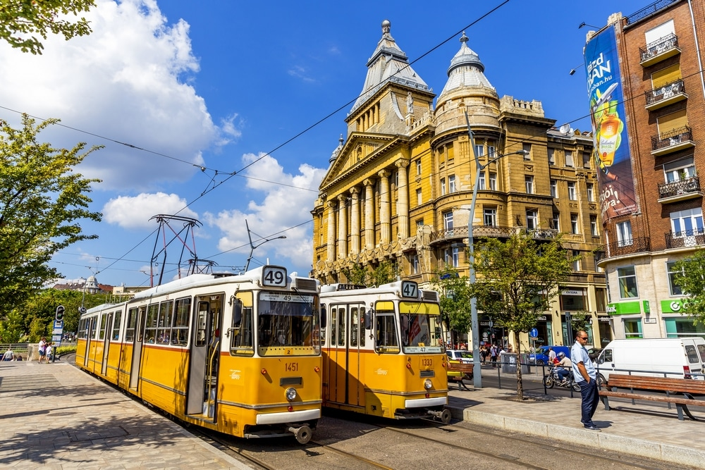 transport budapest free