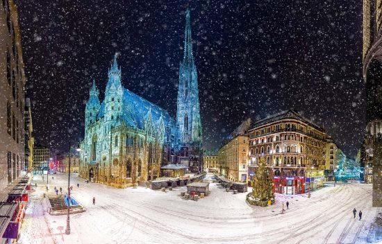 Det er stemningsfullt i Wien før jul!