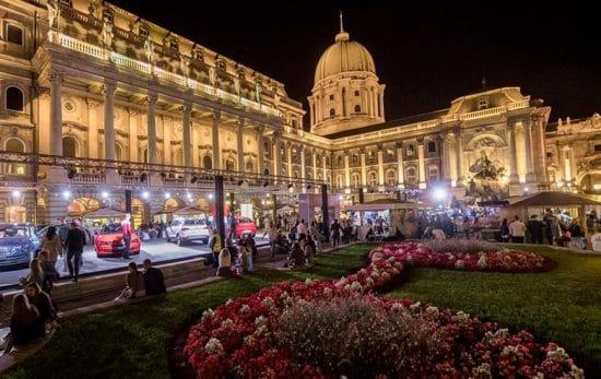 Vinfestivalen i Budapest i september hvert år